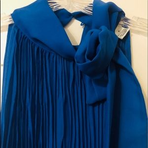 Allison Taylor Blue Blouse